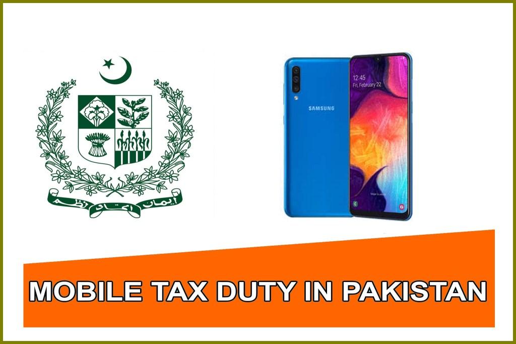 Samsung Galaxy a50 Plus mobile tax in pakistan 2019,