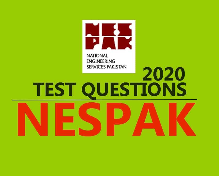 NESPAK Junior Engineer Electrical Test