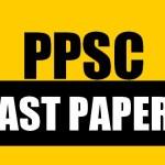 PPSC PAST PAPER 2019