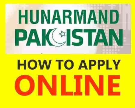 How to apply online Hunarmand program