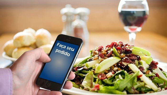 vender comida pela internet