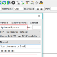 Using Filezilla with FTP/FTPS | Hosted~FTP~ Help