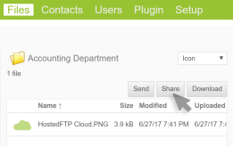 Setting up your FTP workspace