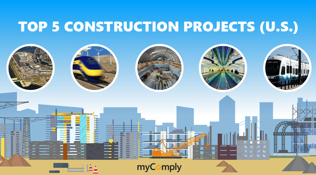 Top 5 United States Construction Projects in 2019