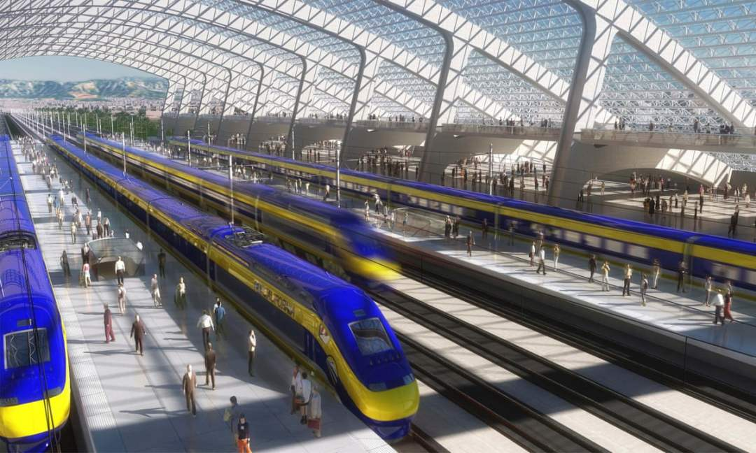 California's High-Speed Railway mega construction project