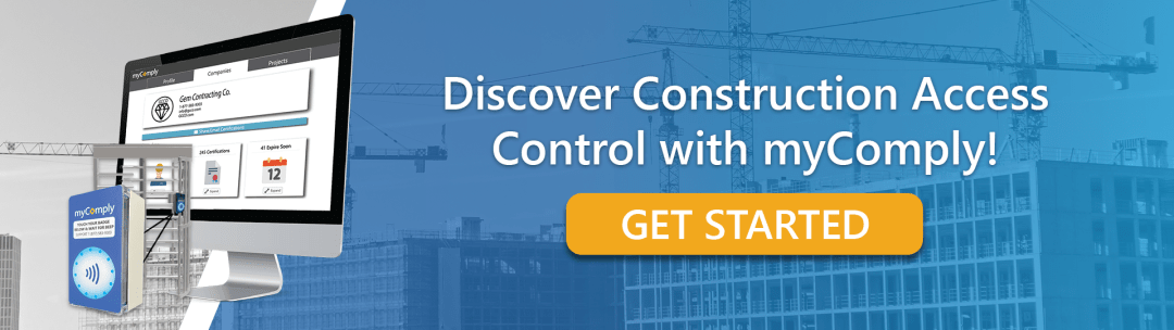 Discover Construction Access Control with myComply