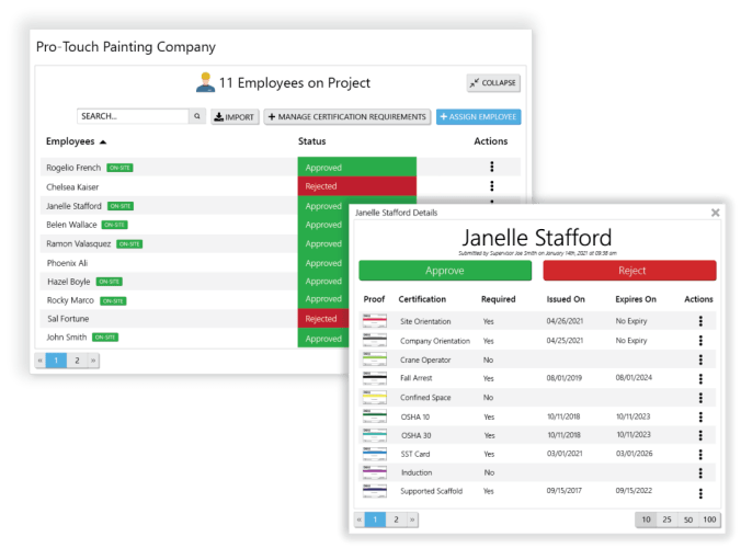 credential management with myComply