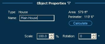 Pool Studio Object Properties Panel