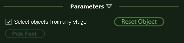 VizTerra Panel Parameters