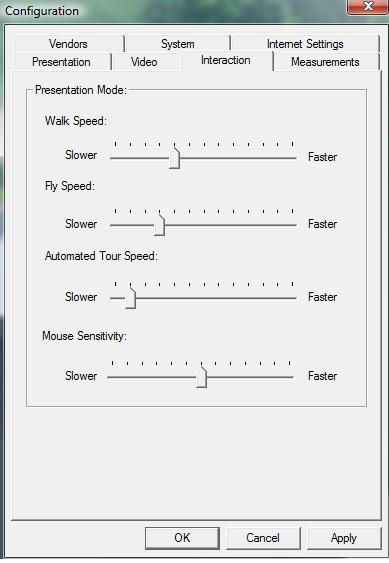 Pool Studio Configuration Interaction Tab