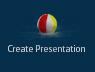 Pool Studio Create Presentation Beach Ball Button