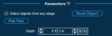 Pool Studio Planters Parameters