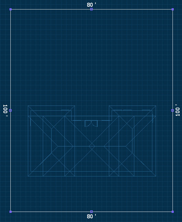 Pool Studio Tutorial Step 4 Walls and Fences Grid View