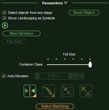 VizTerra Adjusting Items