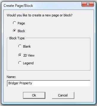 VizTerra Construction Create Page Block