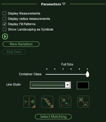 VizTerra Construction Parameters Editing Plants and Trees