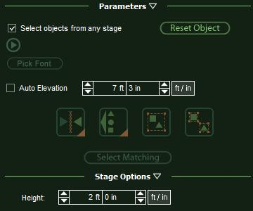 VizTerra Custom Shapes Setting Height and Elevation