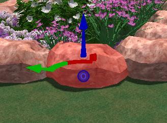 VizTerra Pool Studio Selecting the Objects 3D Gizmo
