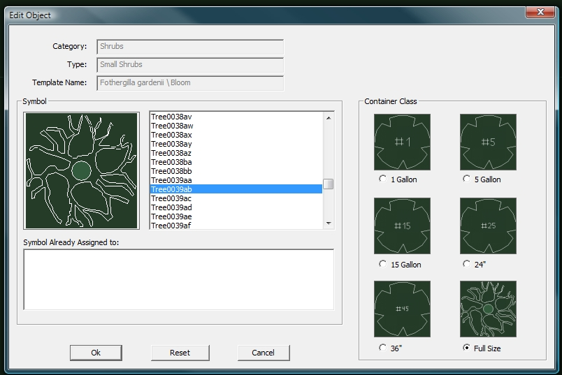 VizTerra Tutorial Step 12 Plants and Trees Landscaping Symbols