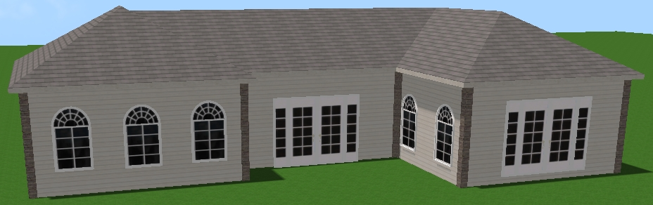 VizTerra Tutorial Step 3 House Preview in 3D
