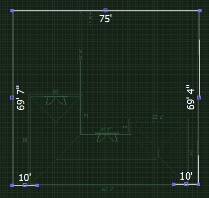 VizTerra Tutorial Step 5 Walls and Fences Stage