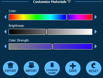Pool Studio Customize Materials Options