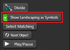 Object Tab Landscaping Symbols