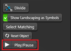 Object Tab Pause Play