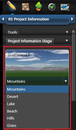 Project Information Environment