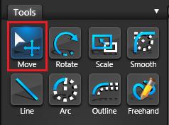 Vip3D Tools Move