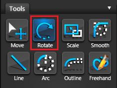 Vip3D Tools Rotate