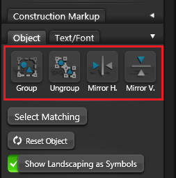 VIP Construction Object Settings 1