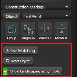 VIP Construction Object Settings 2