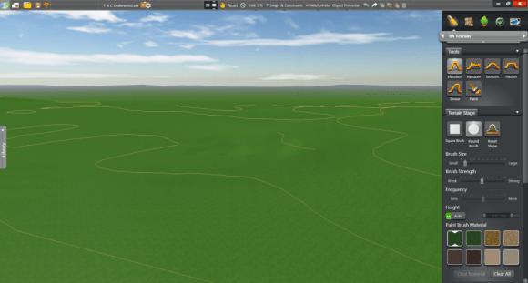 VT GIS Terrain