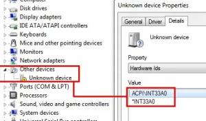 acpi int33a0 или intel smart connect technology driver что это