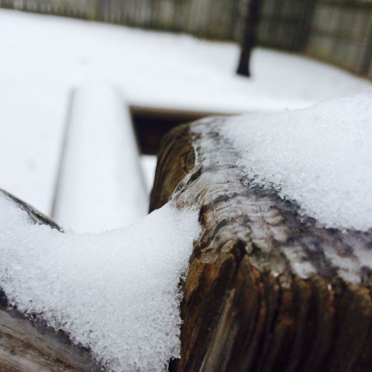 Ice and Snow on Deck