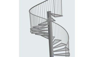 Stair Tool Basics How To Create Metal Spiral Stair | Flexible Handrail For Spiral Staircase | Staircase Ideas | Stair Kit | Loft Stairs | Stair Parts | Modern Staircase