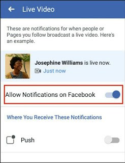 turn off notifications