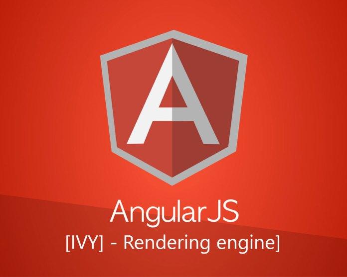 Angular 8 Ivy