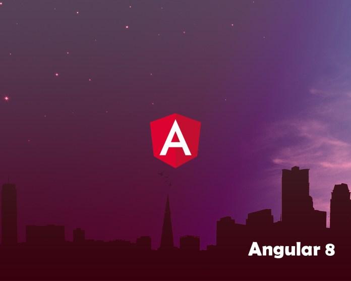 Angular 8 Beta 10
