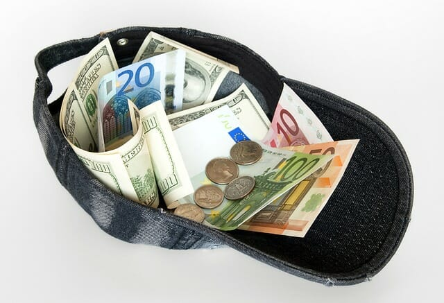 money hat