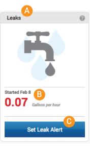 EOW Leak Alert flush left