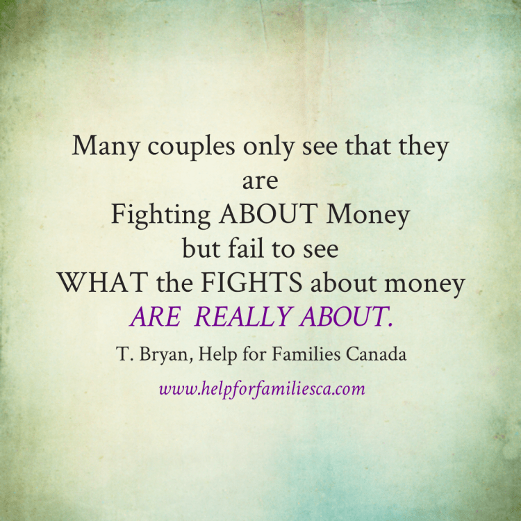 Quote-Couples Fight Money -Whats Really Problem