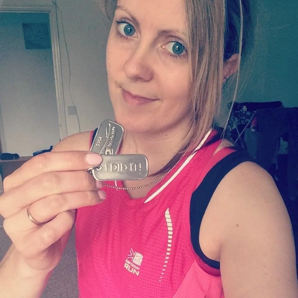 Race for Life Medal