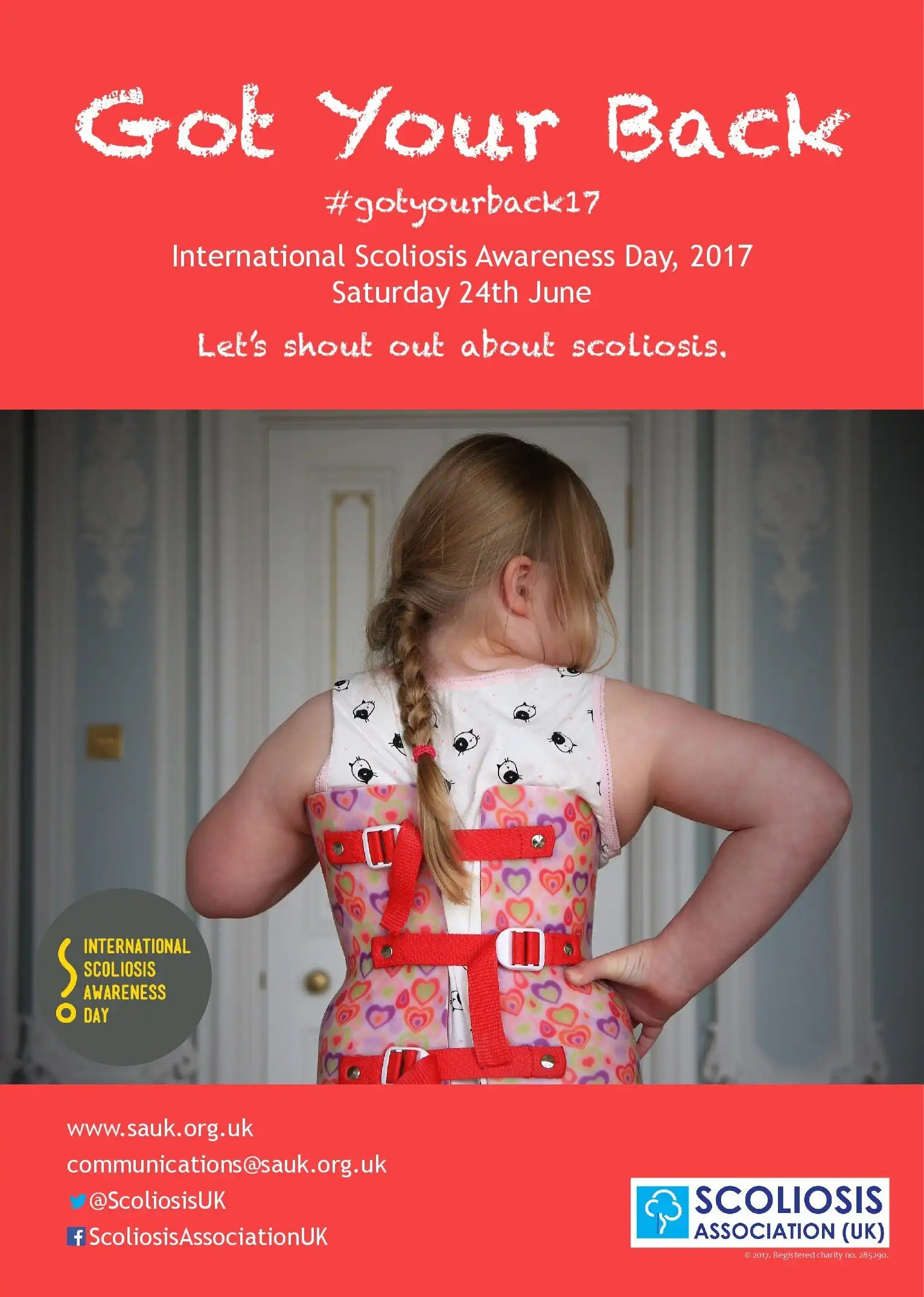 International Scoliosis Awareness Day 2017