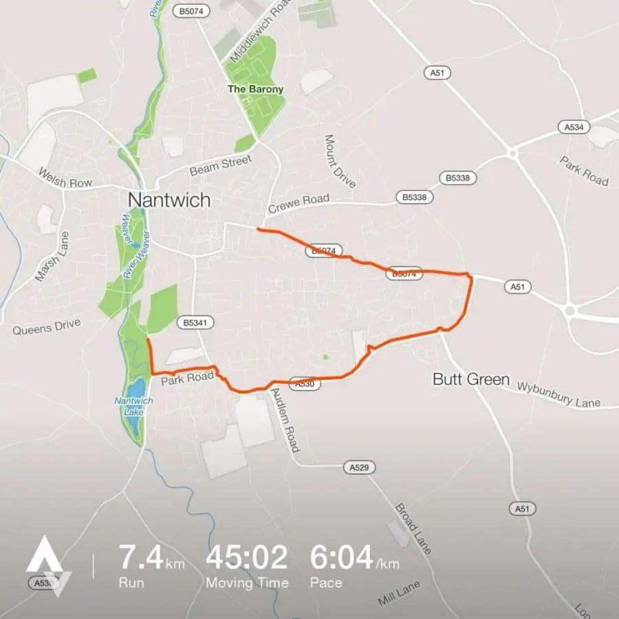 7.4k run