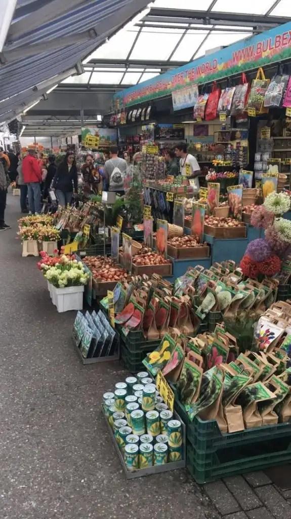 4 days in Amsterdam - Flower Market