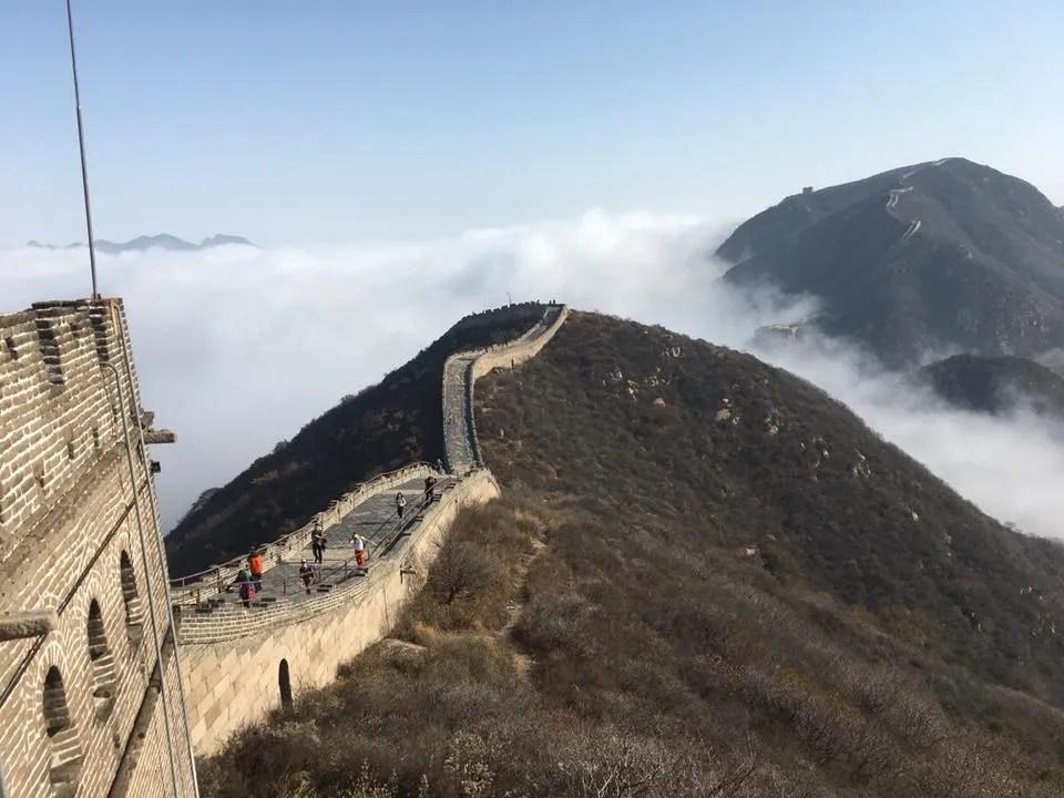 China Trek Day 5 - Badaling Great Wall view