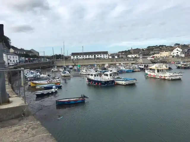 South West Coast Path Day 5 porthleven