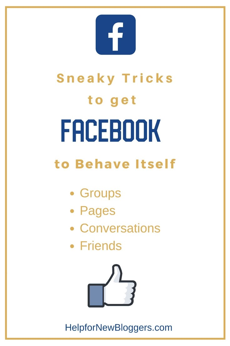 Help for New Bloggers Sneaky Tricks to Improve Facebook Social Media Blogging